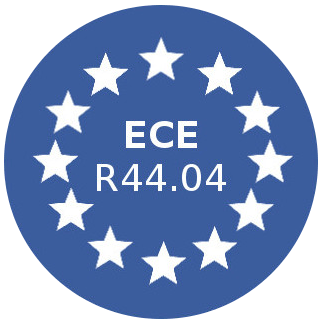 Approved according to ECE R44/04